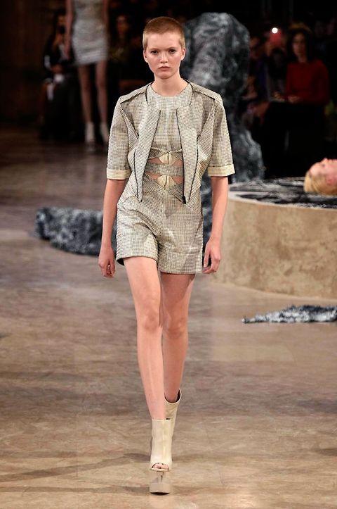Human, Fashion show, Shoulder, Joint, Human leg, Runway, Fashion model, Style, Street fashion, Beauty,