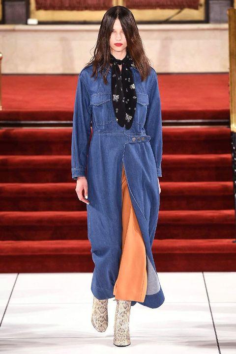 Blue, Textile, Style, Winter, Electric blue, Street fashion, Fashion, Fashion model, Cobalt blue, Costume design,