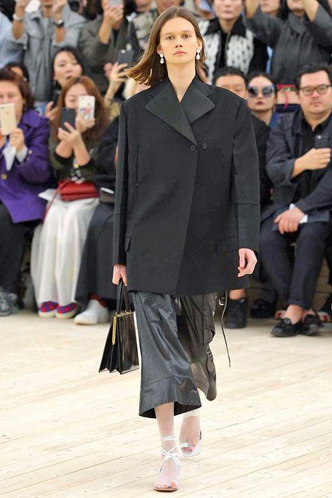 Clothing, Footwear, Sleeve, Outerwear, Hat, Style, Street fashion, Bag, Fashion, Waist,
