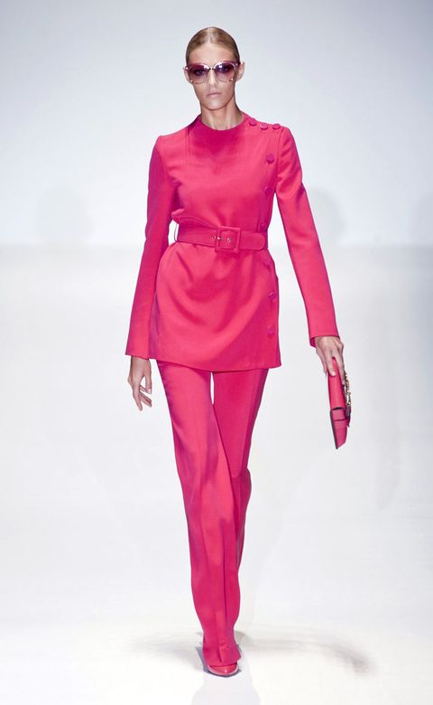 Sleeve, Shoulder, Standing, Joint, Red, Style, Fashion model, Magenta, Fashion, Waist,