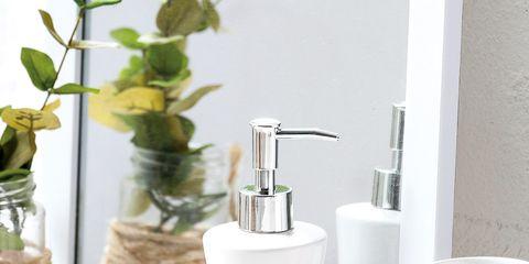 Liquid, Serveware, Cosmetics, Still life photography, Cylinder, Peach, Dishware, Plant stem, Vase, Silver,