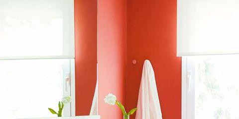 Room, Floor, Interior design, Flooring, Wall, Interior design, Ceramic, Fixture, Plumbing fixture, Tile,