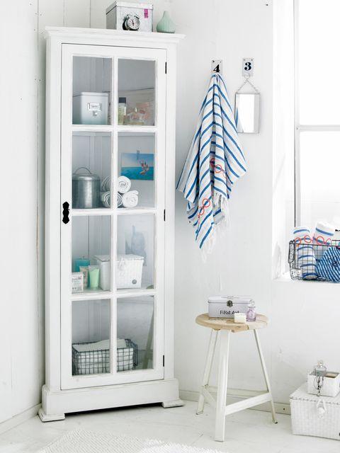 Shelving, Room, Shelf, Wall, Aqua, Turquoise, Teal, Grey, Cabinetry, Display case,