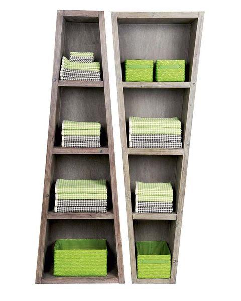 Green, Shelving, Shelf, Rectangle, Parallel,