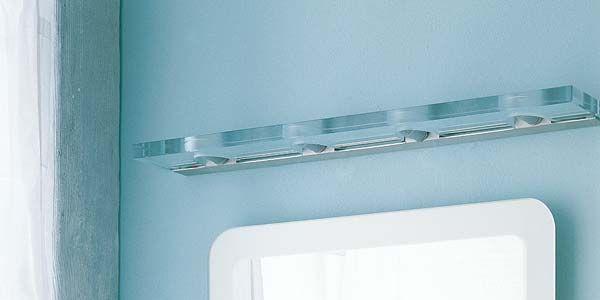 Apliques para el espejo del cuarto de baño