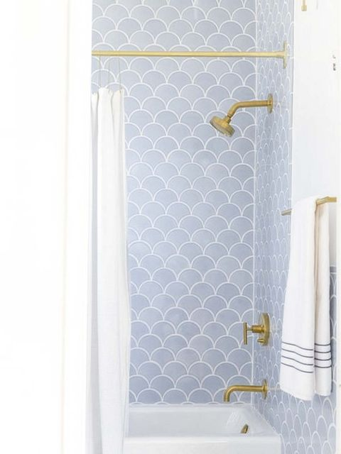 Product, Tile, Bathroom, Shower bar, Wall, Shower, Room, Plumbing fixture, Shower rod, Door,
