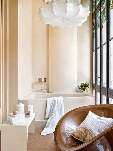 Room, Interior design, Wall, Floor, Flooring, Interior design, Fixture, Light fixture, Home, Linens,