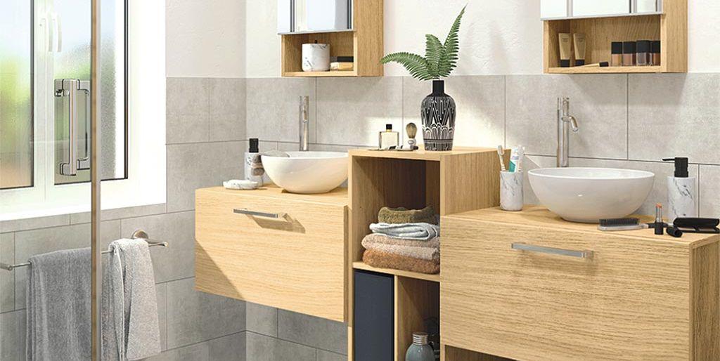 Ideas para aprovechar mejor el espacio de tu baño