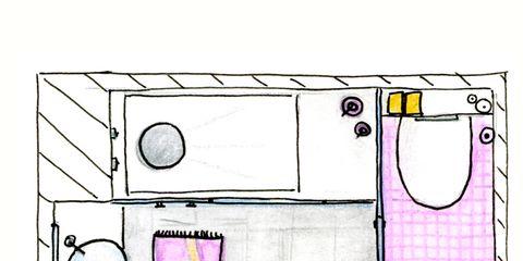 Line, Pink, Purple, Magenta, Lavender, Parallel, Rectangle, Illustration, Circle, Drawing,