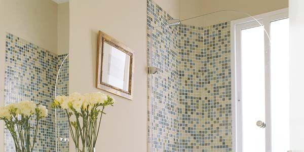 Baño Gresite   Un Bano Con Pintura Y Gresite