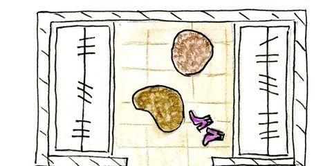 White, Line, Purple, Parallel, Rectangle, Drawing, Illustration, Artwork, Plan, Sketch,