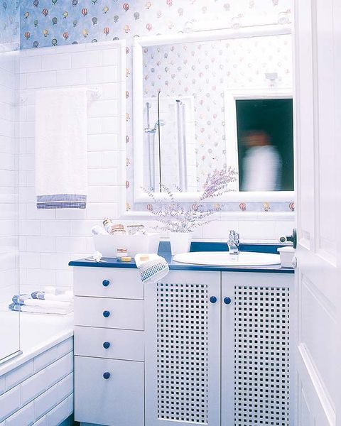 Blue, Product, Room, Floor, Interior design, White, Cabinetry, Drawer, Wall, Turquoise,