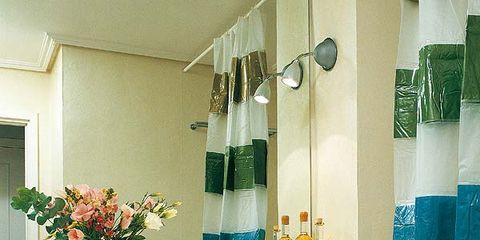 Blue, Room, Interior design, Flowerpot, Teal, Turquoise, Aqua, Interior design, Floor, Azure,