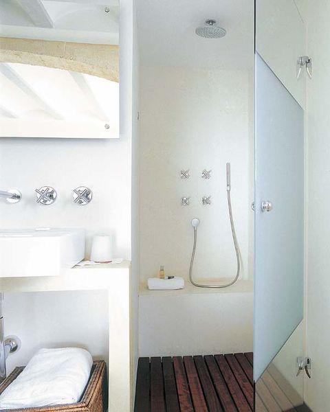 Platos de ducha para todos los estilos for Plato para ducha cuarto bano
