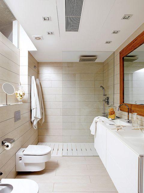 Room, Interior design, Plumbing fixture, Floor, Architecture, Flooring, Property, Wall, Tile, Bathroom sink,
