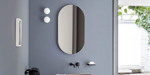Room, Furniture, Fixture, Mirror, Stool, Household hardware, Arch, End table, Handle, Still life photography,