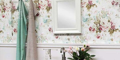 Furniture, Shelf, Room, Green, Pink, Table, Chest of drawers, Dresser, Interior design, Drawer,