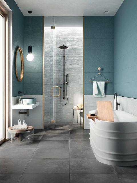 Bathroom, Tile, Room, Floor, Interior design, Property, Plumbing fixture, Tap, Wall, Flooring,