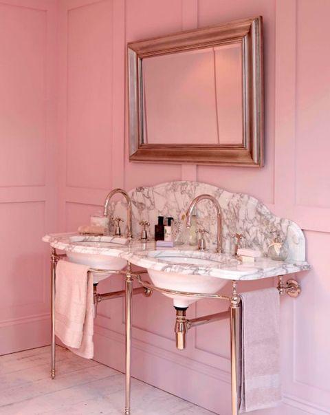 Baños Rosas | La Eleccion Mas Dulce Banos En Colores Pastel