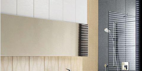Architecture, Property, Wall, Room, Interior design, Floor, Tile, Flooring, Plumbing fixture, Fixture,