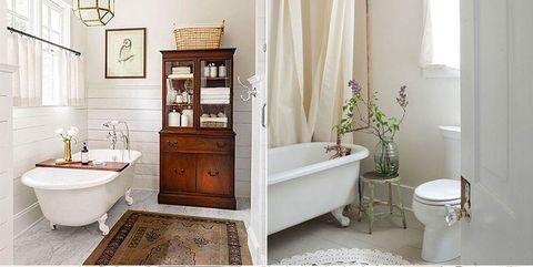 baños de estilo vintage