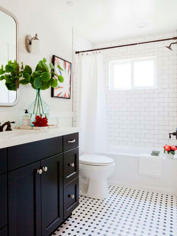 16 baños con encanto vintage