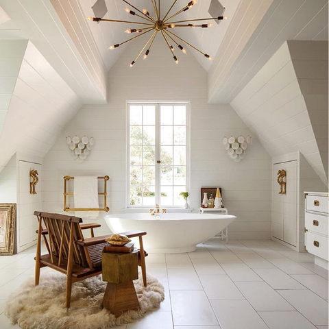 Ceiling, White, Room, Interior design, Property, Furniture, Building, Floor, Wall, House,