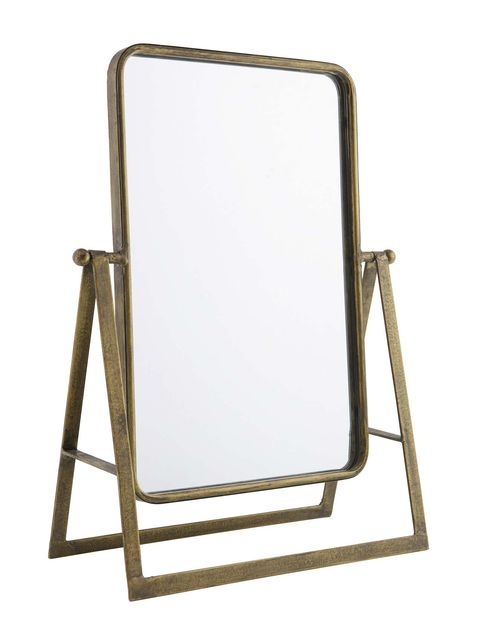 Folding chair, Mirror, Chair, Table, Furniture, Rectangle,