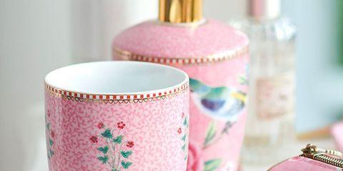 Pink, Drinkware, Tableware, Teacup, Cup, Ceramic, Cup,