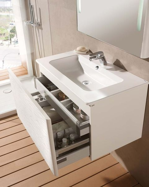 muebles de lavabo con amplio gavetero