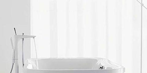 Product, Fluid, Liquid, Plumbing fixture, Household supply, Grey, Kitchen appliance accessory, Bathtub accessory, Plumbing, Plastic,