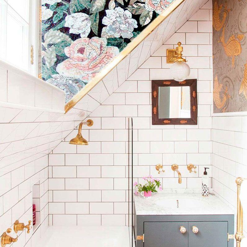 12 baños muy florales para recibir la primavera