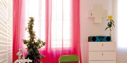 Product, Room, Interior design, Chest of drawers, Wood, Floor, Bathtub, Flooring, Drawer, Pink,