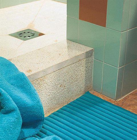 Blue, Floor, Flooring, Tile, Teal, Wall, Tile flooring, Turquoise, Aqua, Azure,