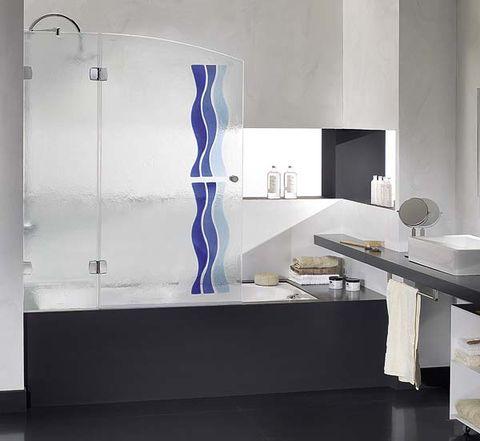 Interior design, Floor, Wall, Room, Flooring, Interior design, Glass, Fixture, Countertop, Grey,