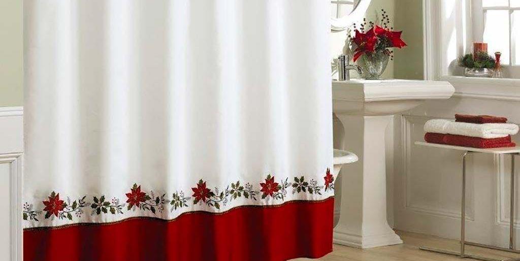 Baño decorado para Navidad
