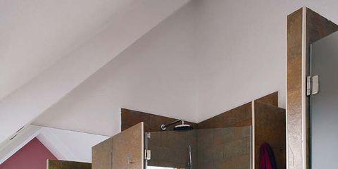 Floor, Property, Interior design, Wall, Flooring, Room, Ceiling, Fixture, Purple, Tile,