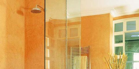Room, Interior design, Property, Wall, Plumbing fixture, Interior design, Fixture, Sink, Tap, Cabinetry,