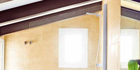 Plumbing fixture, Room, Bathroom sink, Interior design, Property, Tap, Glass, Sink, Plumbing, Fixture,