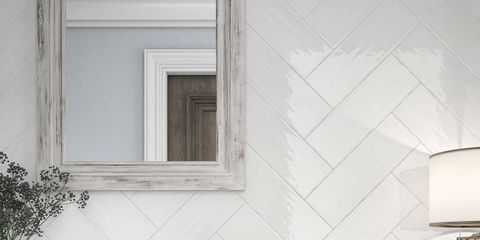 White, Tile, Room, Sink, Countertop, Property, Wall, Tap, Interior design, Furniture,