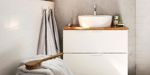 Lighting, Room, Bathroom sink, Interior design, Plumbing fixture, Property, Wall, Architecture, Tap, Sink,
