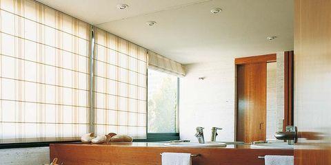 Room, Lighting, Interior design, Property, Floor, Plumbing fixture, Tap, Wall, Flooring, Glass,