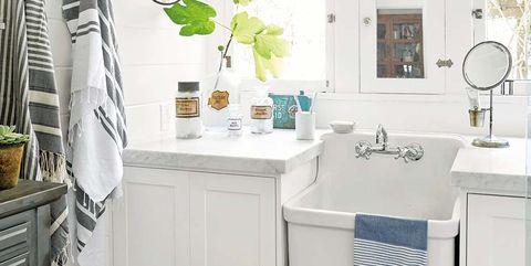 Ideas para tener un cuarto de baño con alma vintage