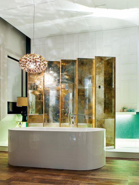 Interior design, Floor, Property, Flooring, Room, Wall, Glass, Ceiling, Interior design, Light fixture,