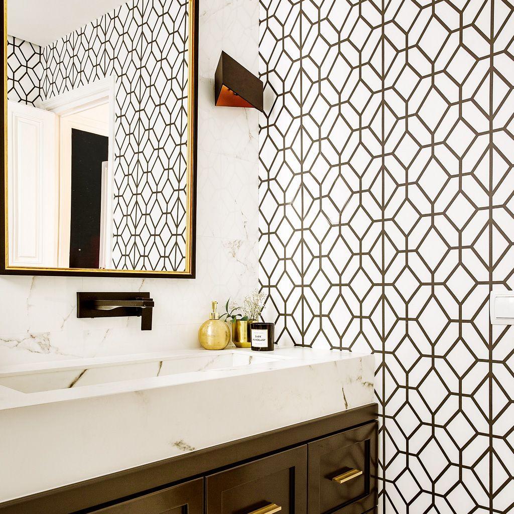 Elegancia en el baño  Efecto bicolor 363168a5f56a
