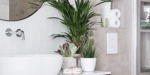 Un precioso cuarto de ba o con doble cabina de ducha for Banos con ducha cabina