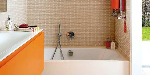 cuarto de baño para los niños