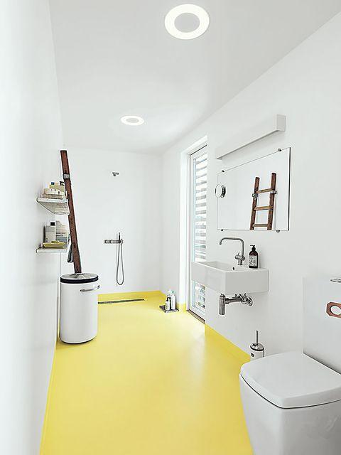 Sabes cómo dar más color a tu cuarto de baño?