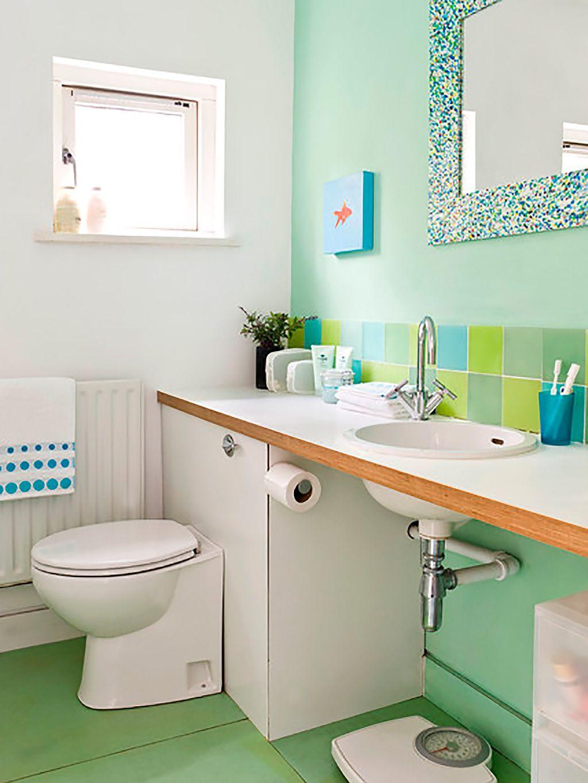 ¿Sabes Cómo Dar Más Color A Tu Cuarto De Baño?