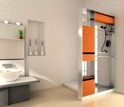 Room, Wall, Floor, Fixture, Gas stove, Grey, Cooktop, Kitchen stove, Major appliance, Kitchen appliance accessory,